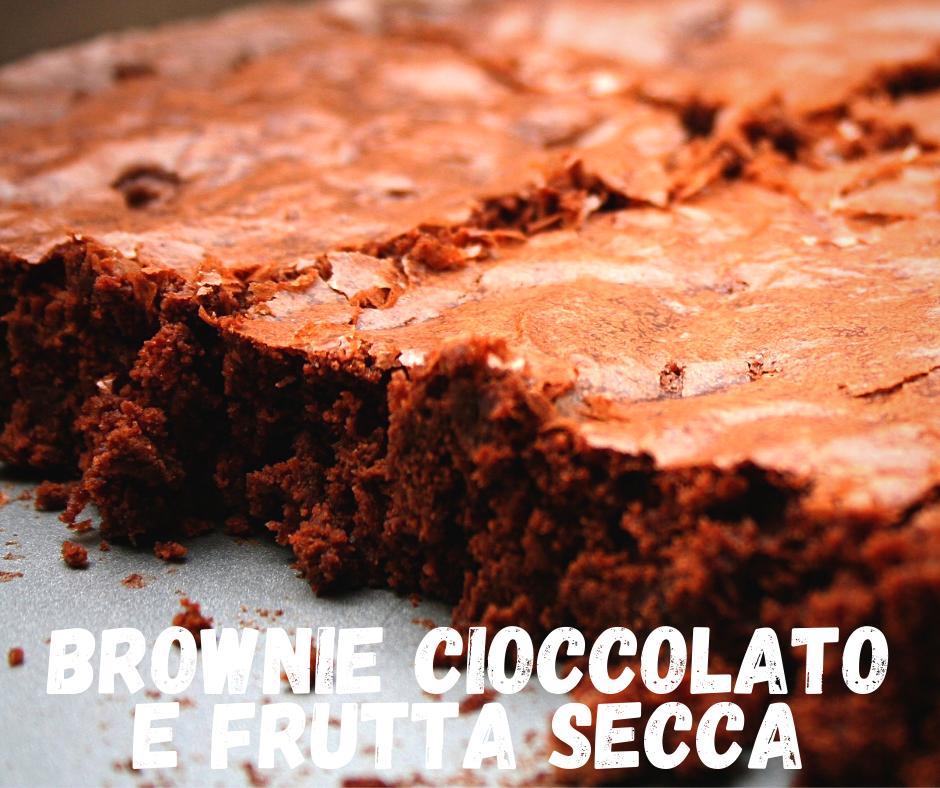 brownie cioccolato frutta secca brunch pavia