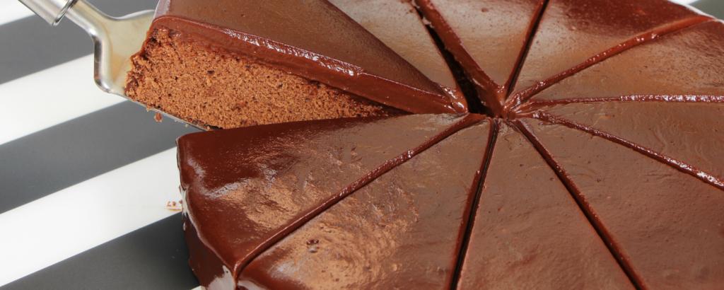 torta al cioccolato dolcemente'