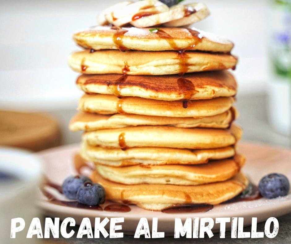 pancake mirtilli pavia