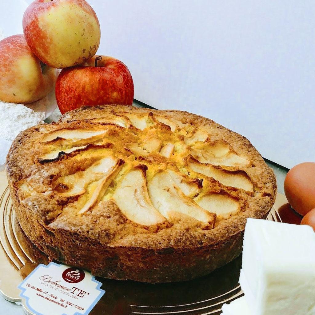 torta di mele dolcemente'