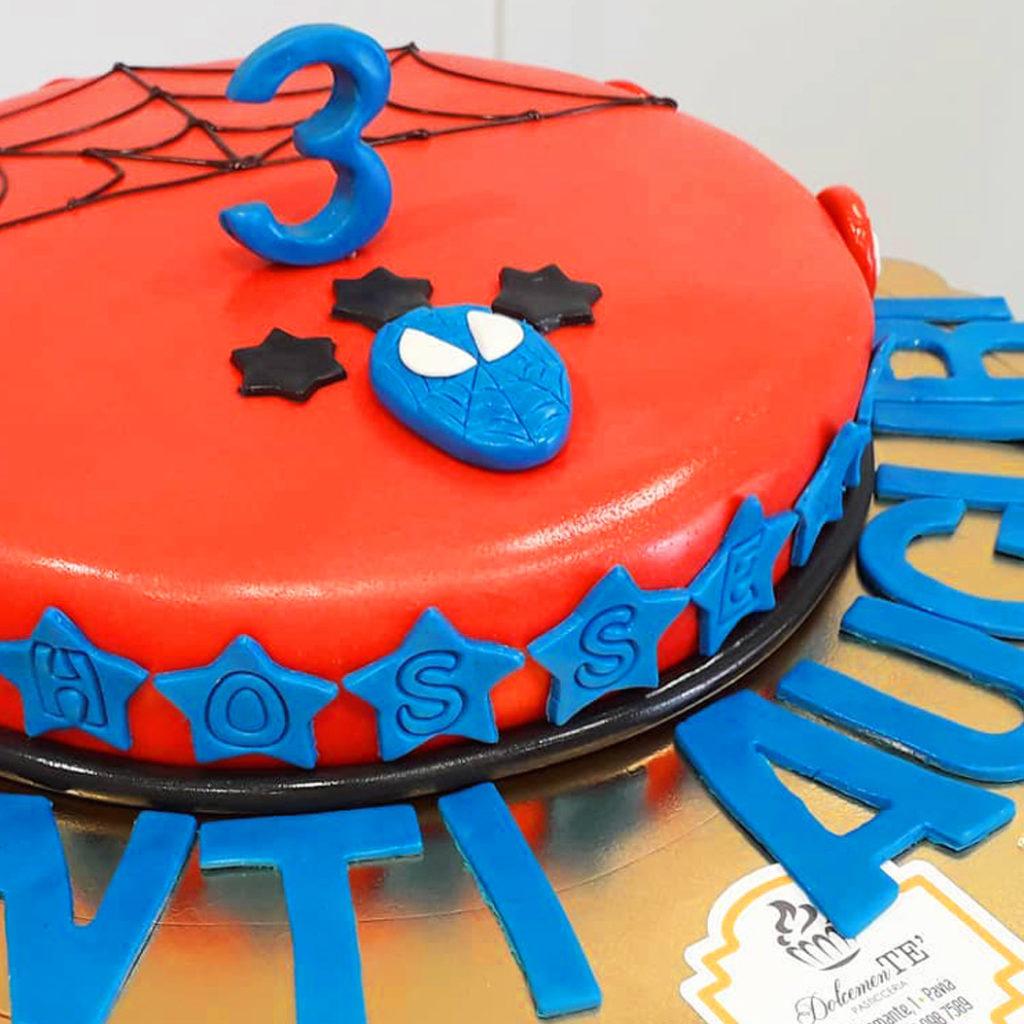 torta spiderman dolcemente'